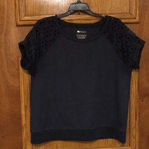 STYLUS Tops - STYLUS blouse with laser cut sleeves